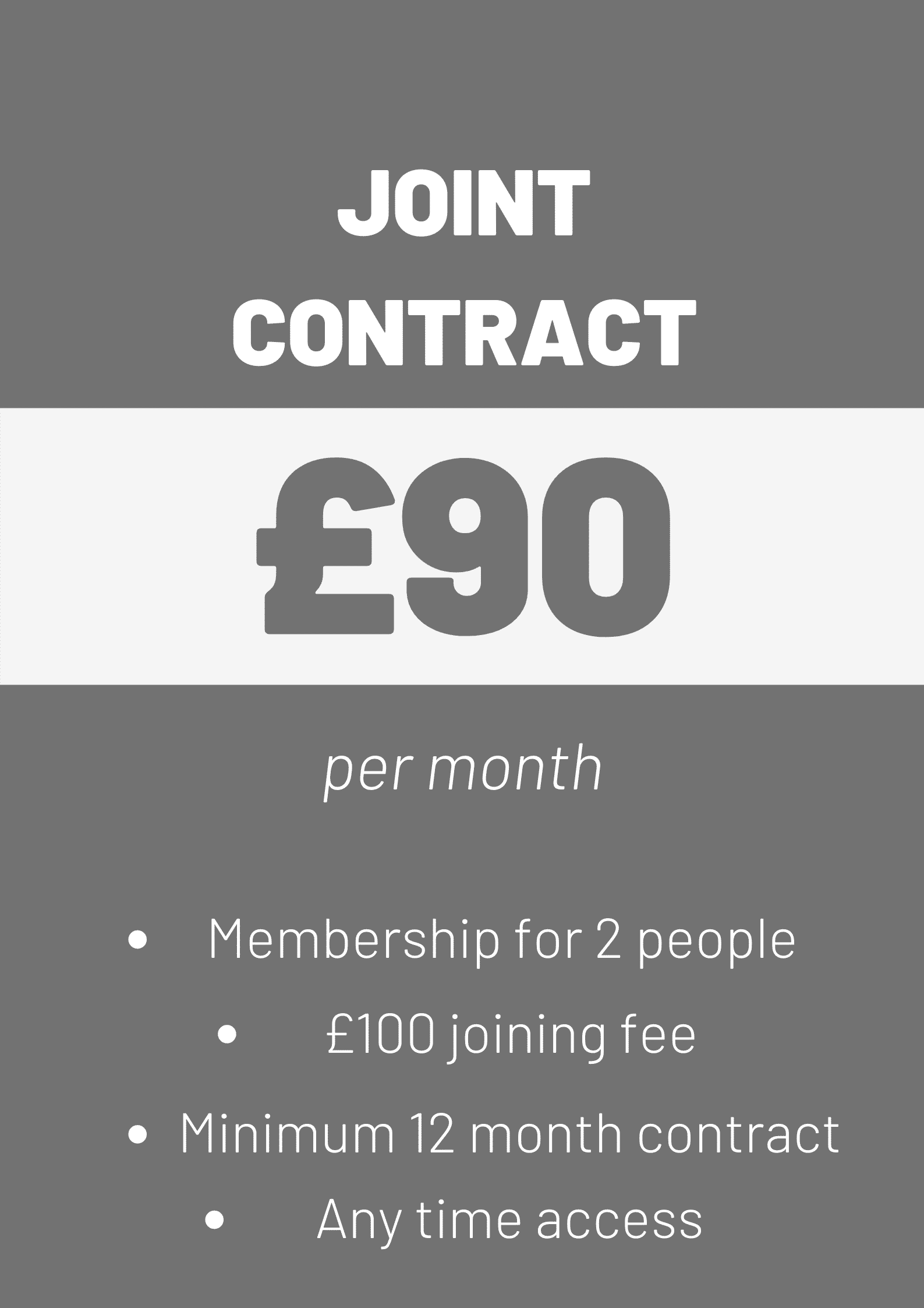Joint Contract